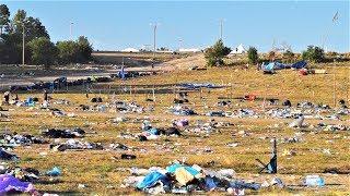 Ludzie pojechali, a syf został! Tak wygląda pole Woodstockowe dzień po zakończeniu imprezy!
