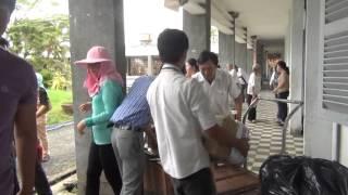 Đoàn từ thiện Đạo Phật Ngày Nay từ thiện tại tỉnh Bến Tre