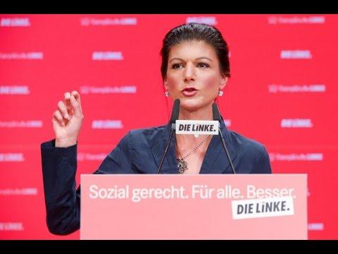 Сара Вагенкнехт о причинах сдвига в «Право» в  немецком обществе