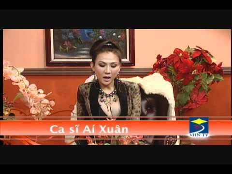 MC Trần Quốc Bảo phỏng vấn ca sĩ Ái Xuân tháng 12/2011 (part 2)