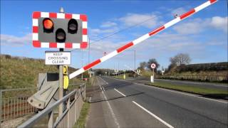 Templepatrick United Kingdom  City pictures : Nirailways C3Ks @ Kilmakee (Templepatrick) level crossing 20/3/2016