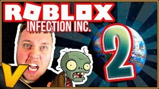 VI GØR DET IGEN • INFICERER VERDEN OG OVERTAGER DEN! • :: Infection Inc. - Dansk Roblox