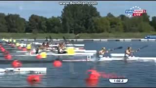 2014 Brandenburg K2 500M  Women Canoe Sprint European Championships