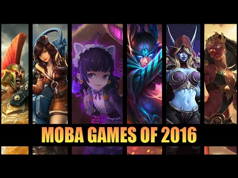 MOBA Games of 2016
