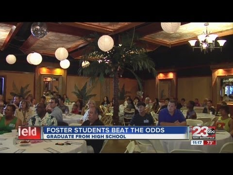 , title : 'Foster students beat the odds'