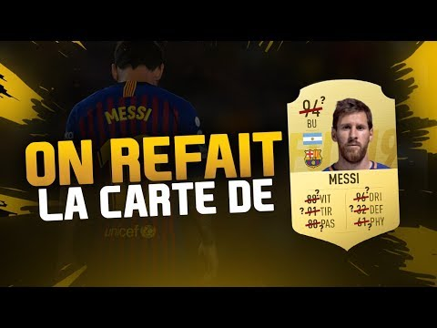ON REFAIT LA CARTE FUT DE MESSI !