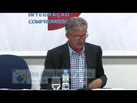 Palestra de Fredy Franco e José Divanilton da Silva no Seminário de Integração Latino-americana