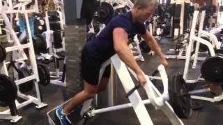 Exercise index: Chest supported rows