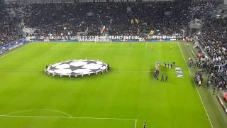 Champions League anthem at J-stadium