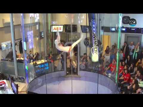 Tanssia tuulitunnelissa – Upea esitys
