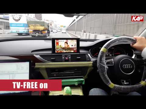 AUDI A6 TV-FREE 2016 YEAR (4G SYSTEM) (VIM)