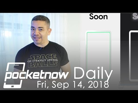 Notch-less Pixel 3 XL Teased, Galaxy S10 with 5 Cameras? & more - Pocketnow Daily
