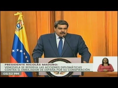 Μαδούρο: Διορία 72 ωρών στην πρέσβειρα της ΕΕ να εγκαταλείψει το Καράκας