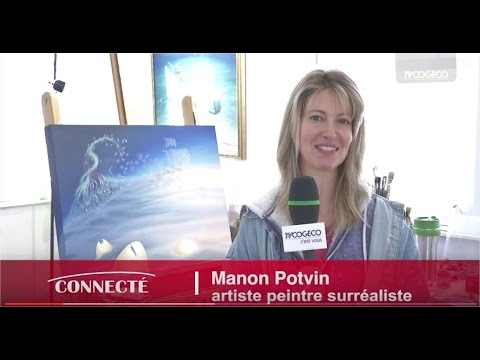 Portrait de Manon Potvin - Connecté sur la culture
