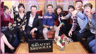 HUGH JACKMAN, ZAC EFRON Y ZENDAYA in THE GREATEST SHOWMAN