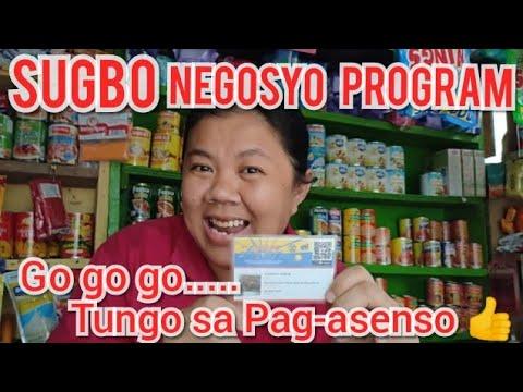 Sugbo Negosyo Program • Nakatanggap ako ng sari-sari store puhunan worth 10k from gov't.of Cebu Prov