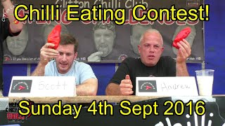 Upton Cheyney Chilli Eating Contest - Sun 4th Sept 2016