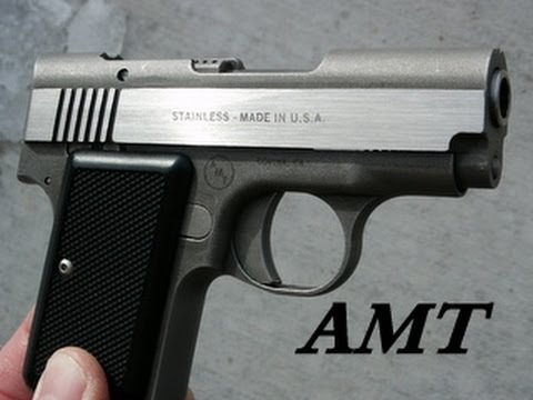 AMT 380 Back Up Pistol Function Test - Hornady Zombie Max & Speer Gold Dot Ammo