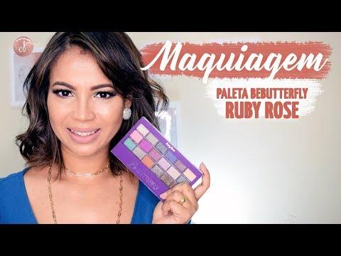 Maquiagem com Ruby Rose