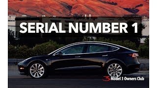 Tesla completed the very first production Model 3 today!Our Patreon page:http://patreon.com/model3ownersclubShop for Model 3 Shirts:https://model3ownersclub.com/shopOur Gear:SONY FDR-AX33 4K camcorderZoom H6 Audio recorderApple Final Cut Pro XNOTE: Federal law allow citizens to reproduce, distribute , or exhibit portions of copyrighted material. This is called fair use and is allowed for the purpose of criticism, news reporting, teaching, and parody which doesn't infringe of copyright under 17 USC 107.