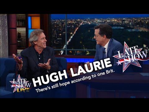 Hugh Laurie Tells Americans What They Should Really Be Worried About