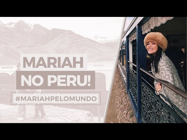 #MariahPeloMundo : Peru! - Mariah Bernardes