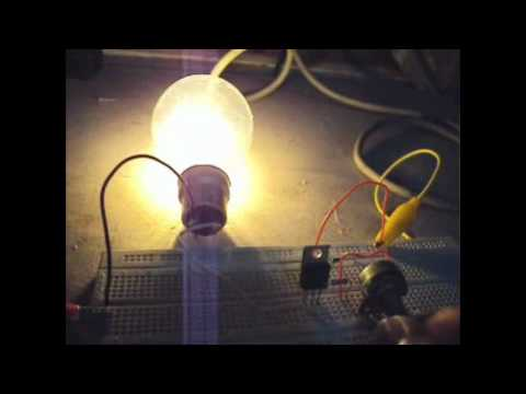 The TRIAC and the Light Dimmer Circuit
