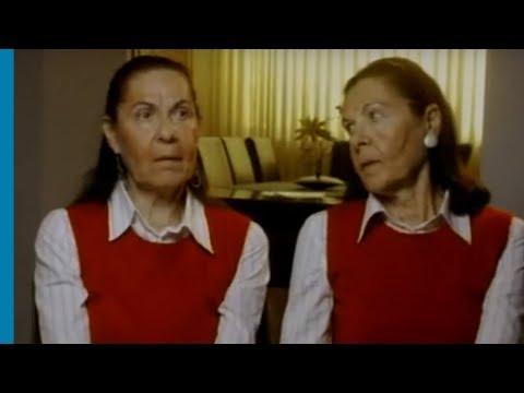 התאומות יהודית ברנע וליה הובר מתארות את ההגעה לאושוויץ