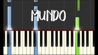 Video MUNDO - IV Of Spades || Synthesia Piano Tutorial MP3, 3GP, MP4, WEBM, AVI, FLV Juni 2018