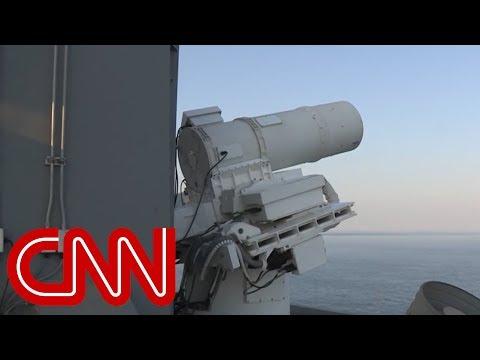 Нова лазерна зброя ВМС США в дії (відео)