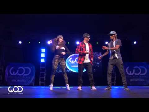 Nonstop, Dytto, Poppin John | FRONTROW  World of Dance Los Angeles 2015  WODLA15