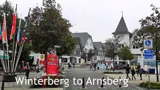 Winterberg Germany  City new picture : GERMANY: Winterberg → Arnsberg, by train - Sauerland [HD]