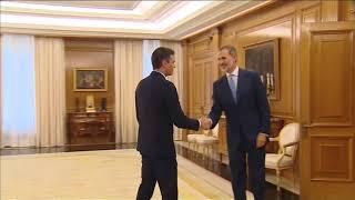 S.M. el Rey recibió en audiencia al secretario general del Partido Socialista Obrero Español, Pedro Sánchez