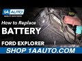 How to Replace Battery on a 2011 Ford Explorer