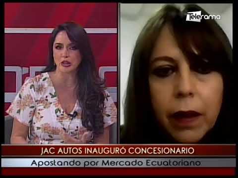 JAC Autos inauguró Concesionario apostando por mercado ecuatoriano