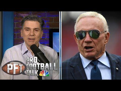 Video: Cowboys' Jerry Jones leaves door open for coaching change   Pro Football Talk   NBC Sports