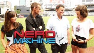 Exclusive Interview - Nerd HQ 2013 Subscribe to The Nerd Machine: http://goo.gl/Le9ha Matt Smith, Jenna Coleman, and Steven Moffat - Exclusive Interview - Ne...