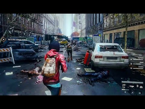 WORLD WAR Z - E3 2018 Gameplay Demo
