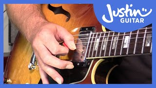 Blues Lick: T-Bone Walker Style (Guitar Lesson BL-511)