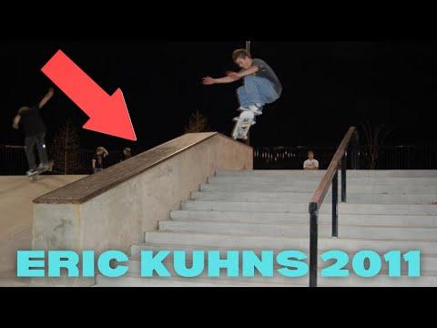Eric Kuhns Skateboarding 2011 (видео)