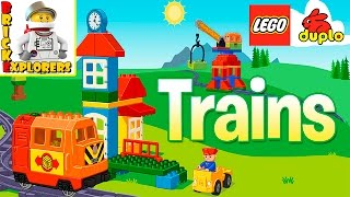 LEGO DUPLO Train funny game for Kids