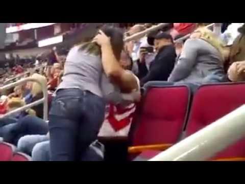 რა გაუკეთა გოგომ ბიჭს კოცნის გამო (ვიდეო)