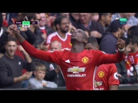 Manchester United vs Leicester City 4-1 All goals (Premier League 24/09/2016)