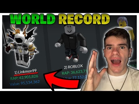 I'm Officially Richer Than Roblox!! (world Record Broken) - Linkmon99 Roblox