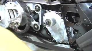 3. Checking Gear Case Fluid on 2010 Arctic Cat Crossfire R 800