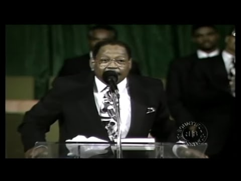 Bishop GE Patterson-Let God Complete His Work In You