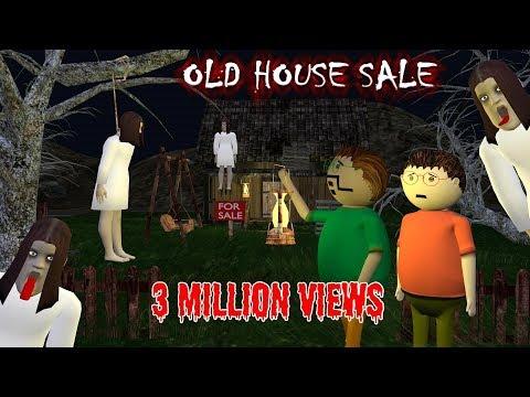 Old House Sale - Horror Story (ANIMATED IN HINDI) Make Joke Horror
