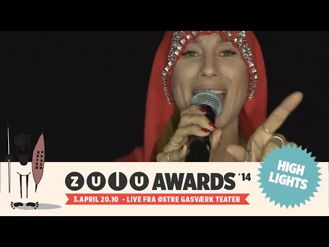 Zulu Awards 2014: Medina feat Kidd (видео)