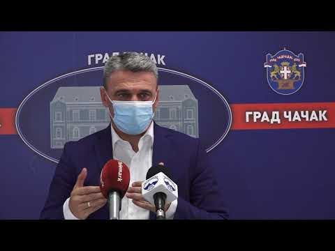 У ЧАЧKУ ОДРЖАНА СЕДНИЦА ГРАДСKОГ ВЕЋА