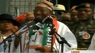 Highlights: President Jonathan's Lagos Rally Speech - 2015
